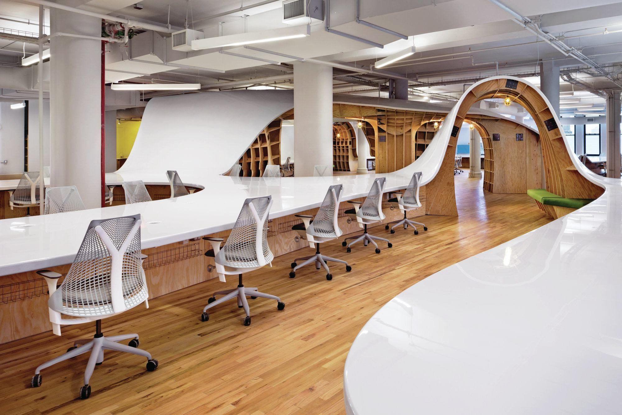 Gli 8 migliori uffici di design al mondo secondo makte for Uffici di design