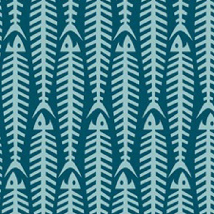 FISHBONE BLUE